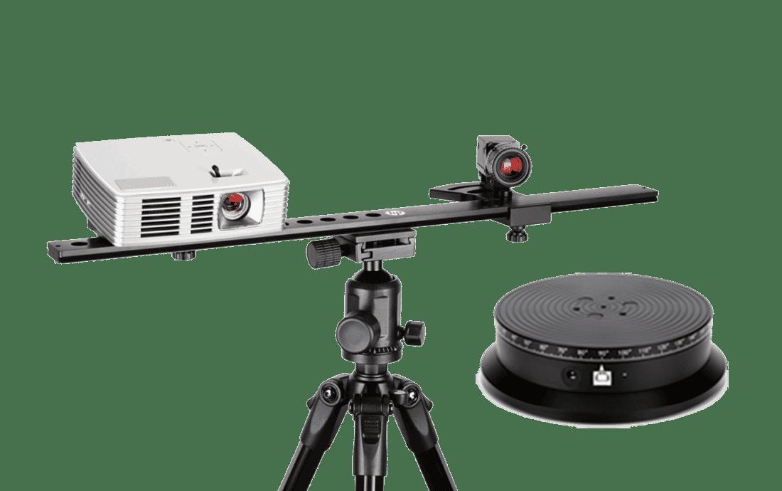 HP DAVID SLS-3 Structured Light 3D-Scanner Drehteller mieten